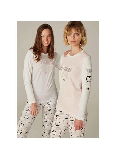 Feyza Pijama Takım Gri